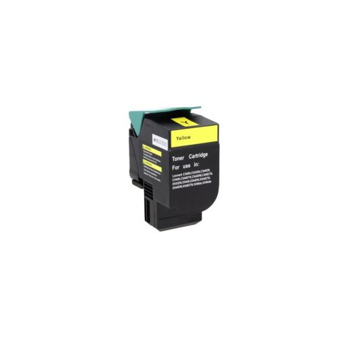 Cartus toner Remanufacturat  compatibil cu Lexmark C540 yellow