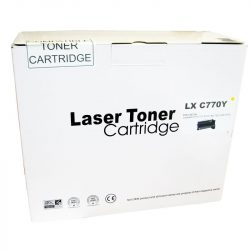 Cartus toner Remanufacturat  compatibil cu Lexmark C770 yellow calculatoare-mag