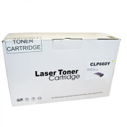 Cartus toner Remanufacturat  compatibil cu Samsung CLP660 yellow calculatoare-mag